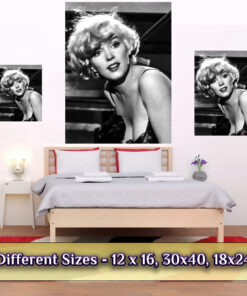 Marilyn Monroe poster medium giant large sizes compares
