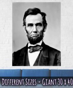 Abraham Lincoln Poster 16th President Giant Size 30 x 40 Inches