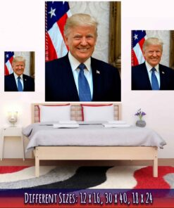 Donald Trump Poster Medium Large Giant Sizes Compared