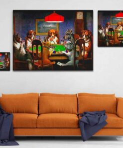 Friend In Need Canvas Print Medium Large Giant Sizes Compared