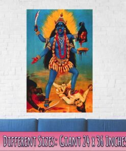 Kali print/ Poster Giant Size 24 x 36 Inches