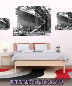 Titanic Poster Ready To Be launched Medium Large Giant Sizes Compared