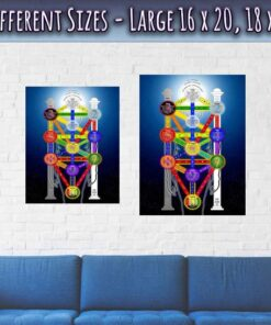Tree Of Life Poster Large Sizes 16 x 20 and 18 x 24 Inches