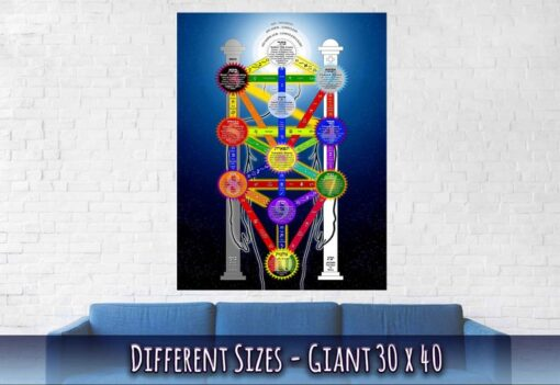 Tree Of Life Poster / print Giant Size 30 x 40 Inches