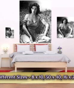Jane Russell Print / Poster Medium Large Giant Sizes Compared