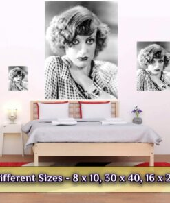 Joan Crawford Print / Poster Medium Large Giant Sizes Compared