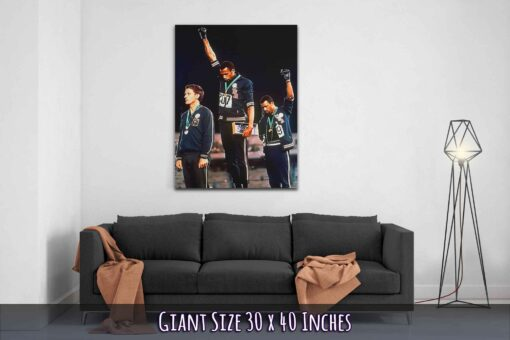 02-Black-Power-Salute-Canvas-Print-Giant-Size-30x40-Inches