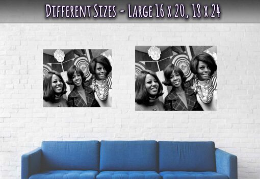 03-The-Supremes-Posters-Hilton-Hotel-Amsterdam-1968-Large-Sizes-20x16-24x18
