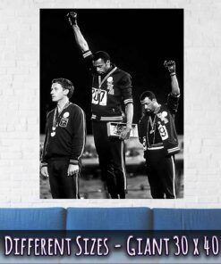 04-Black-Power-Salute-Poster-Giant-Size-30x40-Inches-Black-White